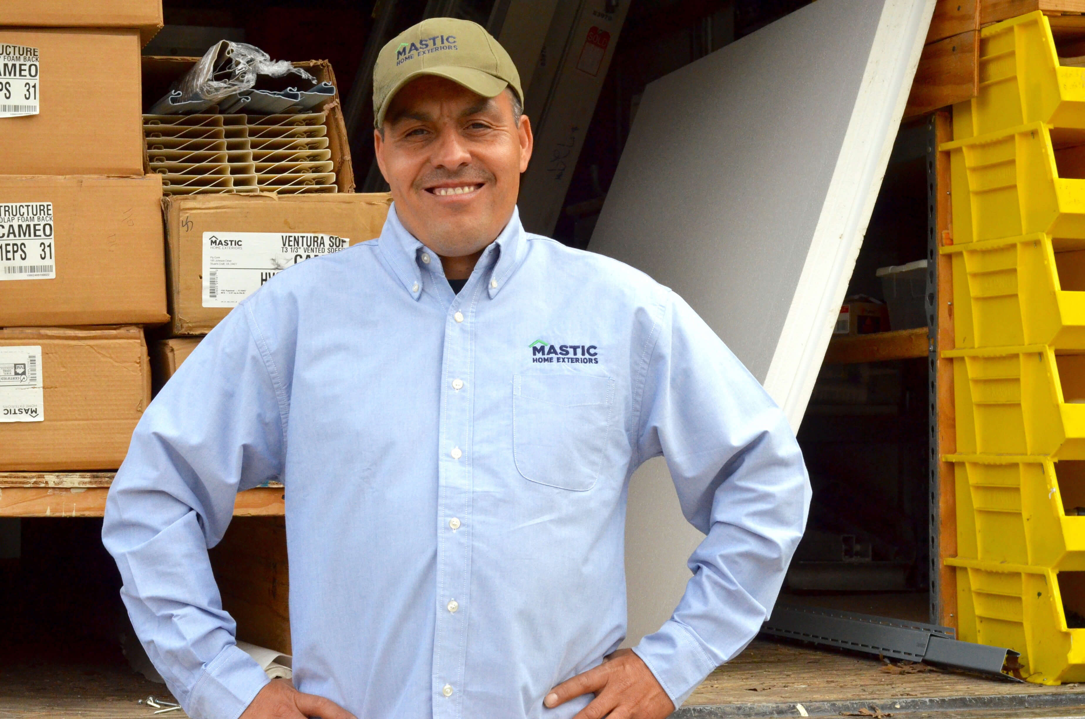Jessie Elizondo Owner and Operator of Affordable Siding & Windows, Dallas, TX